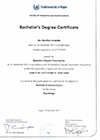 Bachelor´s Degree